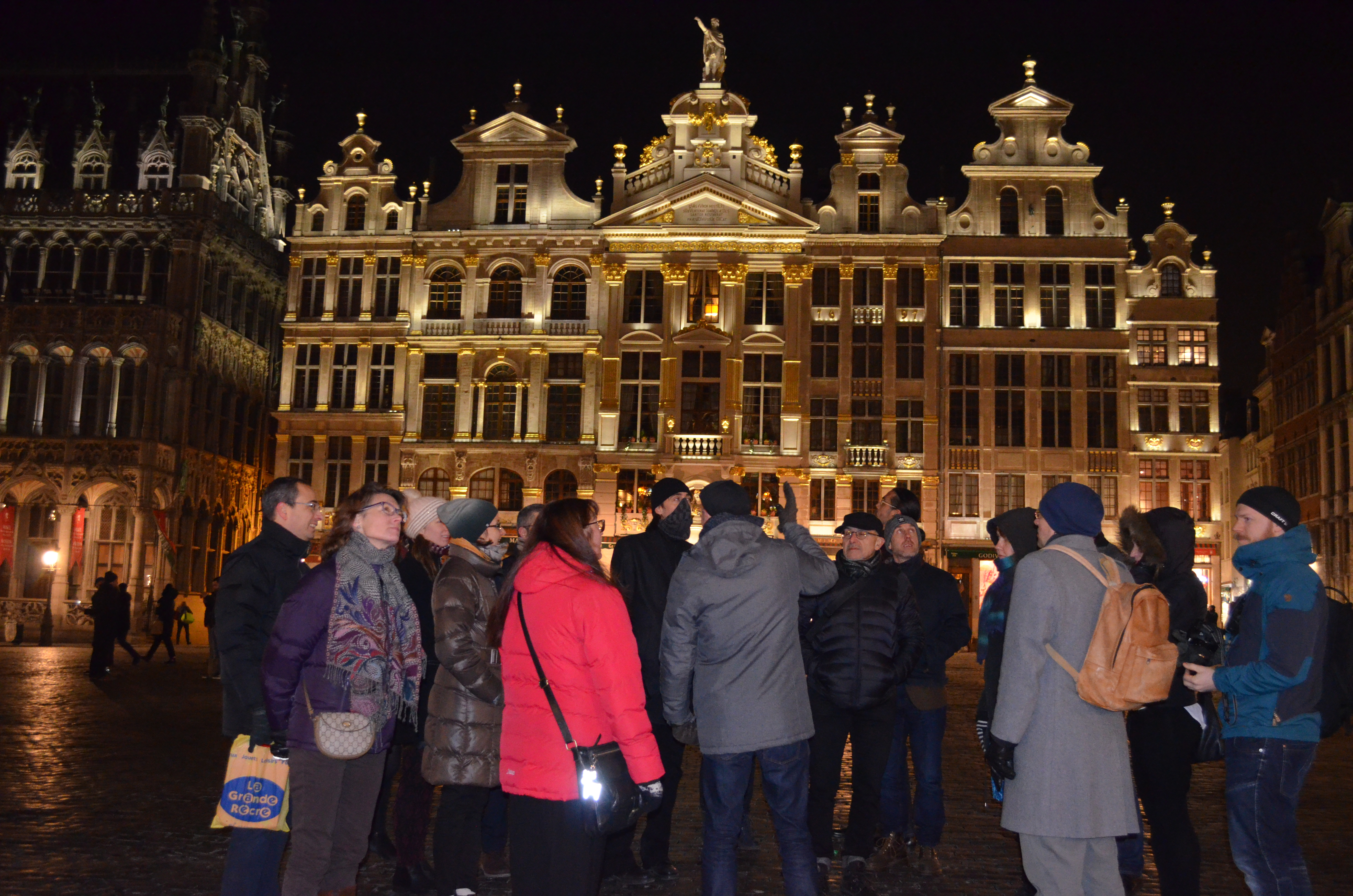 Historic walk in Brussels